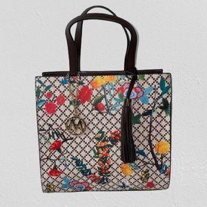 Mia K. Farrow Floral Tote Handbag